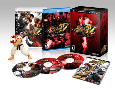 I'm not a PS3 fanboy, but come on, who wouldn't want Ryu glaring at them from atop their alarm clock like this?