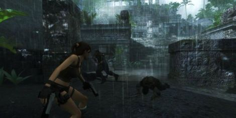 These poor slobs made the mistake of getting in Lara's way