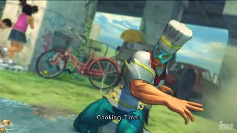 Starting it off is El Fuerto as the the chef that will pummel anyone that puts ketchup on their eggs.