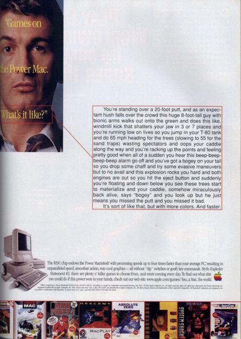 PowerPC ad circa '95