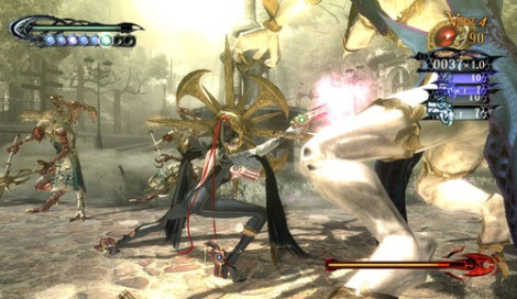 The beat 'em up spirit is alive and well in games like Platinum's Bayonetta.