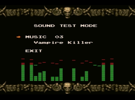 You know what I miss in today's games? This. An actual sound test mode. It doesn't even have to have equalizer graphics like this does. On starting up the game on the X68000, it would ask if you wanted to use the internal Yamaha sound (which was really good), Roland synthesis, or Roland GS wavetable MIDI.